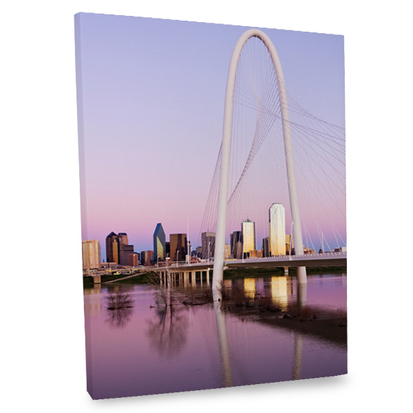 Hang up our Dallas canvas in your living room to add an urban sophisticated look to your decor.