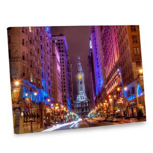 With its striking colors, our Philadelphia photo canvas is sure brighten your home's interior.