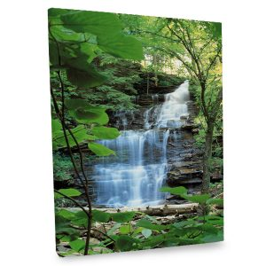 Incorporate natural beauty into your daily life with our stunning waterfall photo canvas.