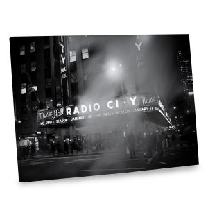 Update your decor with our dramatic black and white photo canvas print.