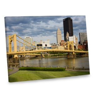 Make your decor one of a kind with our stunning riverside canvas print.