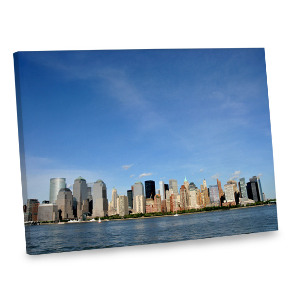 Add an urban feel to your living room with our stunning Battery Park NYC canvas print.
