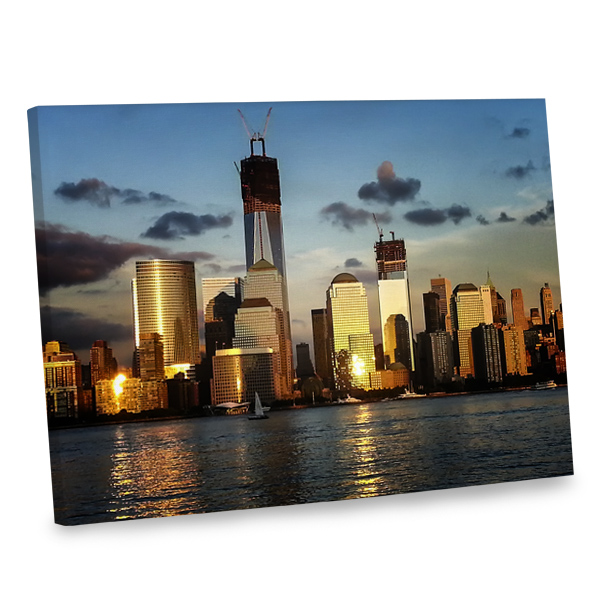 Our World Trade Center print canvas will add beauty to your home, no matter your decor.