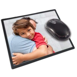 Add your own photo mouse pad for your office desk or home desk