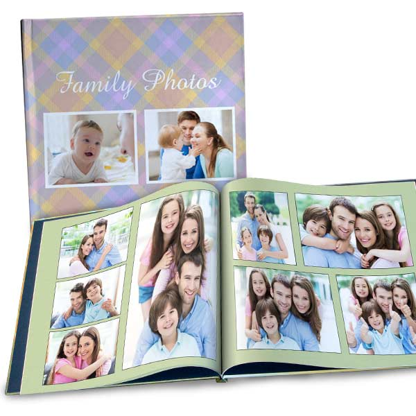 Create your own coffee table book for a gift or any occasion with our large 12x12 photo book