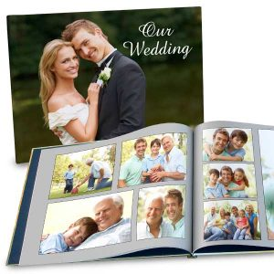 Create a large 11x14 photo book for your home or coffee table