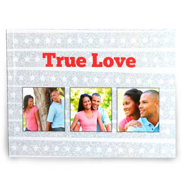 Custom printed cover 5x7 paperback photo book with 20 pages