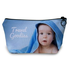 Create your own Travel Toiletry case using photos and text