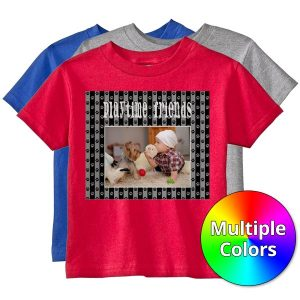 Create a t-shirt for your kids with custom T-Shirts from MailPix