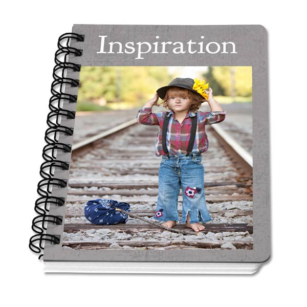 Create your own custom note book for school or the office, great for any use