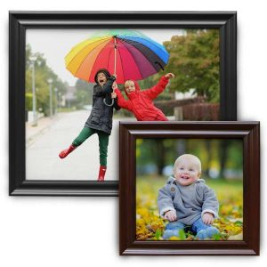 Create a beautiful framed canvas print with Mailpix wood framed canvas prints