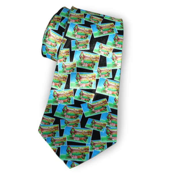Create a custom necktie using your own horizontal photo