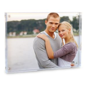 Turn your photo into a modern acrylic photo block to display on your shelf or mantel