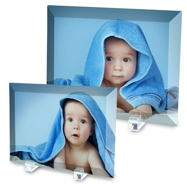 Create beautiful glass photo prints for