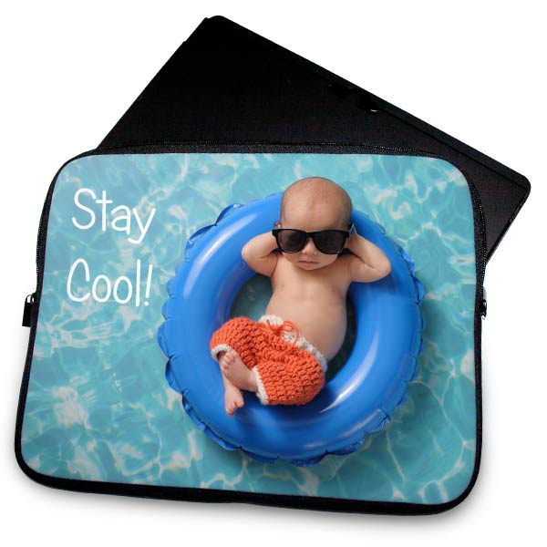 Create your own laptop sleeve to protect your computer, Laptop Sleeves are available in 3 different sizes.