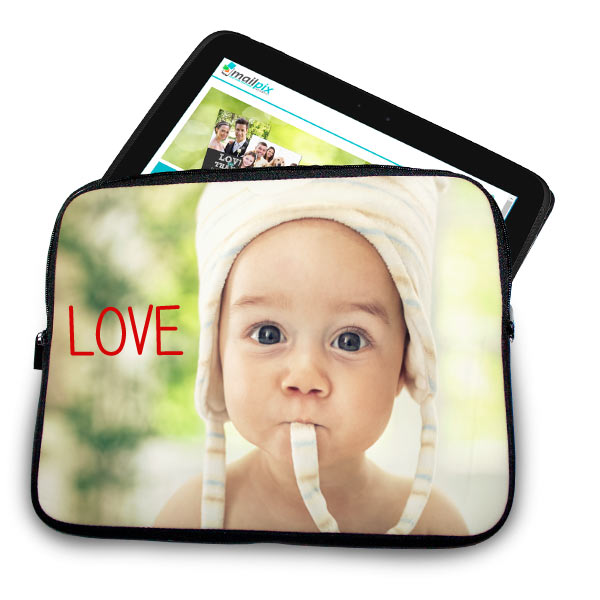 Add your own photo to create a custom tablet case for your iPad