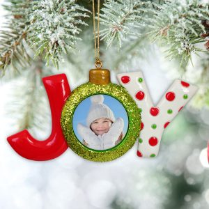 Custom ornaments for your own tree or for personalized gifts