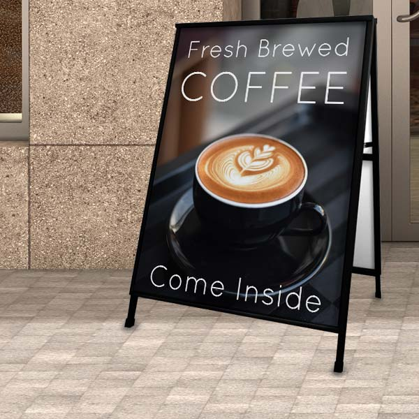 Create a sign for your business and gain more foot traffic through the door