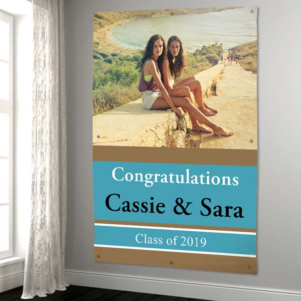 Create a large custom banner 6x4 feet for any occasion