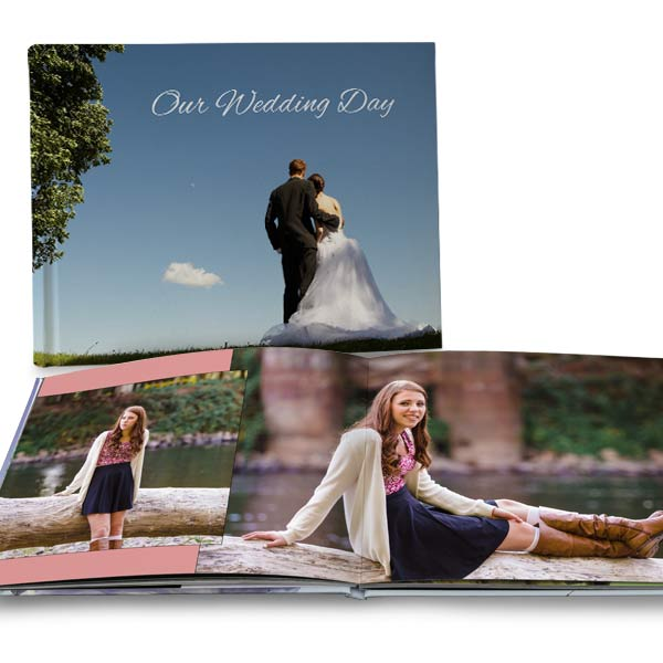 Create a stunning book for your photo memories with MailPix 11x14 Ultra Layflat books