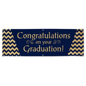 Order a banner for your students graduation party on MailPix