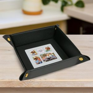 Create a custom valet tray to store your daily necessities