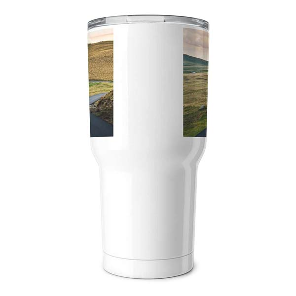 Each travel tumbler is perfect for your commute to and from work