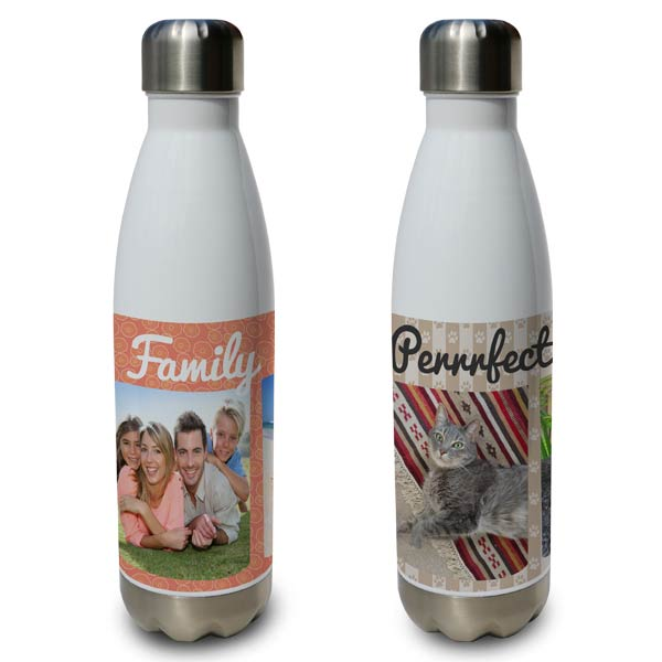 Customize your own aluminum water bottles