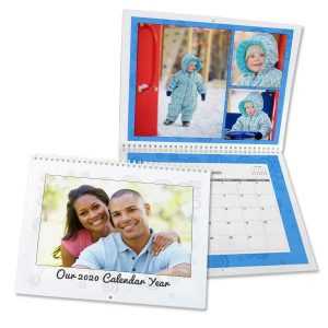 Create a custom 2020 calendar using your own photos with MailPix 8x11 calendars