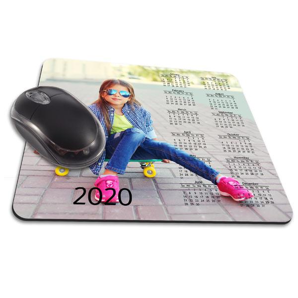 Create a custom calendar mouse pad and enjoy your photos all year long