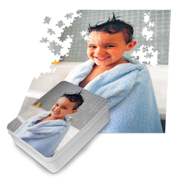 Create a fun and amazing gift with a personalized puzzle using your own photo