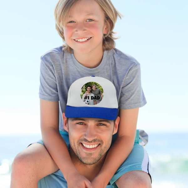 Create a custom baseball cap for your dad or grandfather
