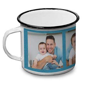 Create a mug for dad perfect for camping in the wilderness with custom camp mugs