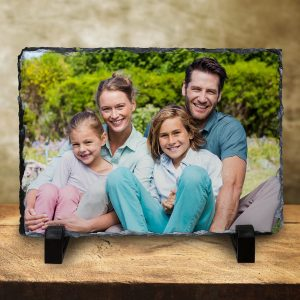 Print your photo on real stone with photo slate prints from MailPix