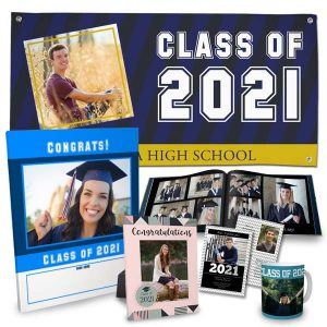 Have a grad in your life? We have a range of custom photo products for the perfect gift! Class of 2021!
