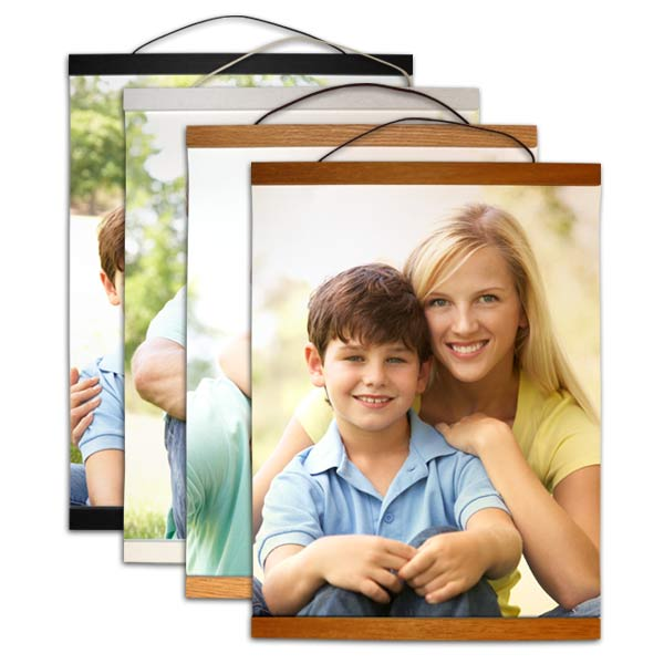 Hanging canvas is available in four different finishes so you can decorate for your home