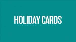DIY Studio Holiday Cards