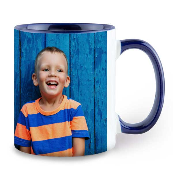 Color accent mugs offer a colored handle and inside to make your mug stand out