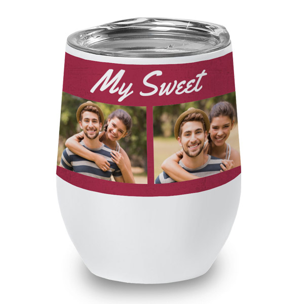 Personalized wine cup perfect for home use and novelty gifts