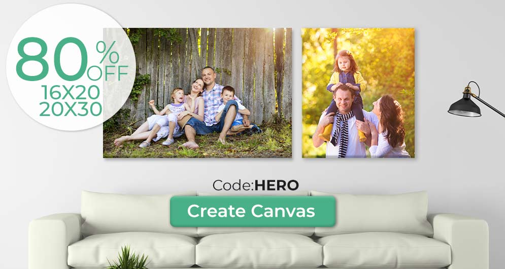 Fill your space with pictures on canvas currently canvas prints are on sale