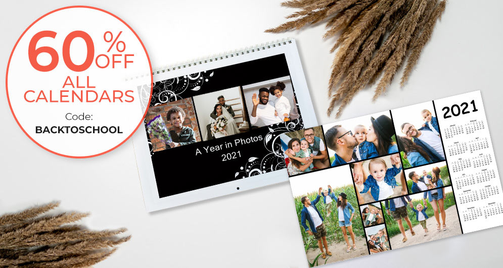 Shop for the new year and create a calendar for back to school