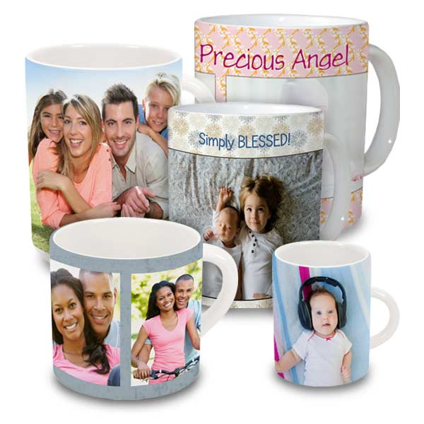 Create your own photo mug in any size you like with many personalization options. Custom Mugs